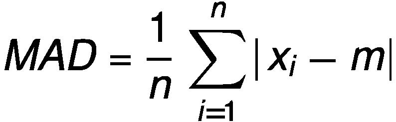 MAD Formula