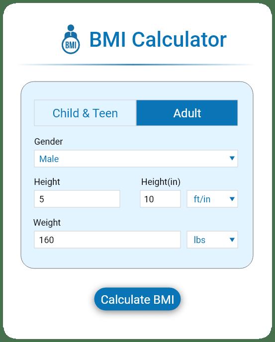 bmi custom calculator